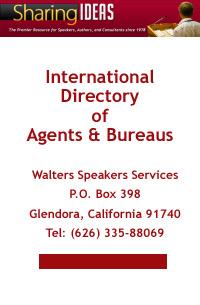 Sharing Ideas International Directory of Agents & Bureaus
